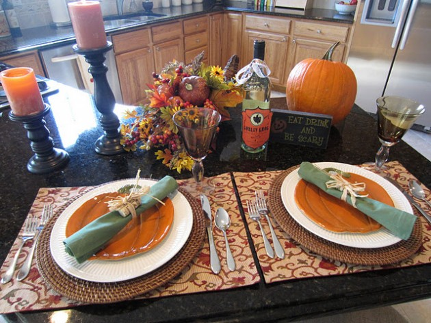 30 Magnificent DIY Halloween Table Decorations