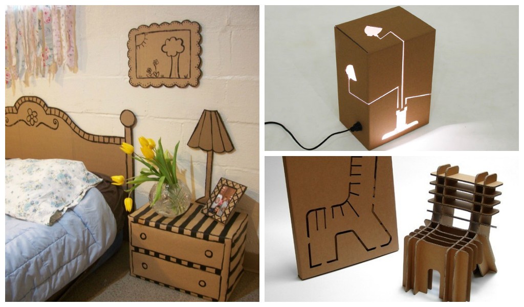 Ordinaire 30 Amazing Cardboard DIY Furniture Ideas