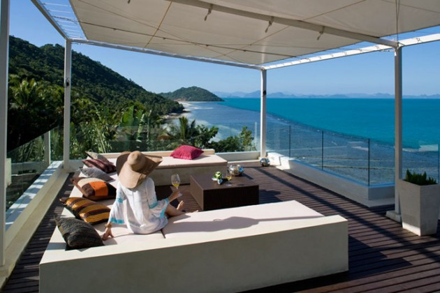Villa Beige with Small Private Beach, Thailand