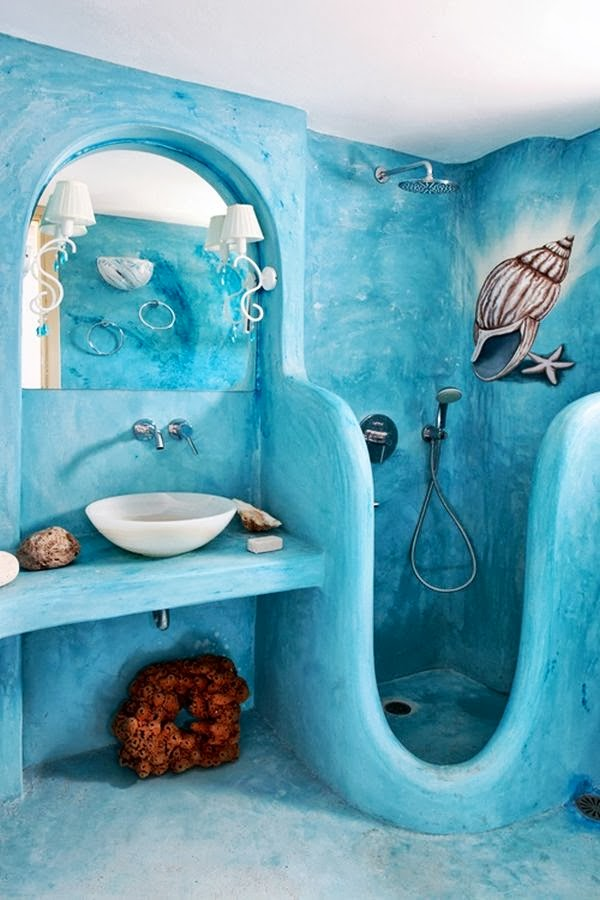 Blue Bathroom Design set of dining room chairs Home Decorating Ideas