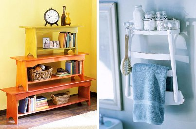 32 Brilliant Repurposing Ideas for Your Home Improvement