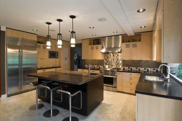 22 Simple Elegant Asian Inspired Kitchen Design Ideas