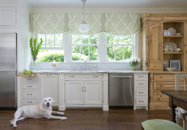 Kitchen Window Treatments Ideas Entrancing Impressive Kitchen Window Treatment Ideas Design Ideas