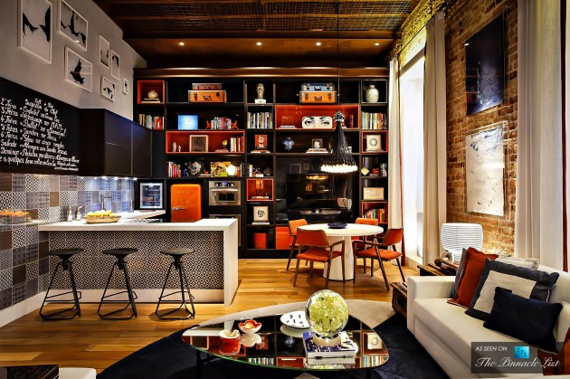 Multifunctional Brazilian Loft Apartment in the Style of 70'S