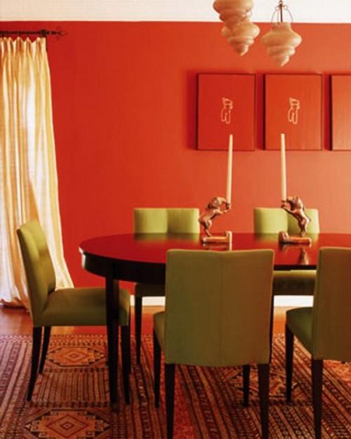 25 Amazing Orange Interior Designs