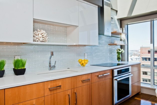 Contemporary Kitchen Backsplash delightful backsplash design ideas for improvement of contemporary