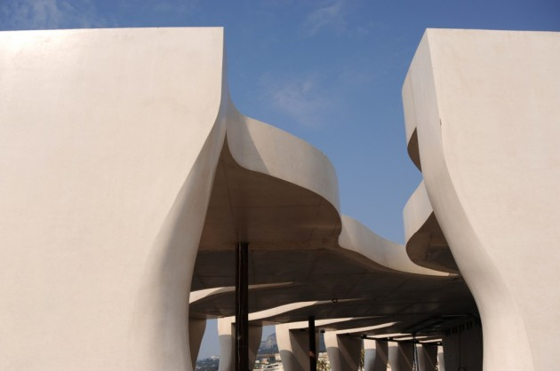 Jean Cocteau Museum by Rudy Ricciotti