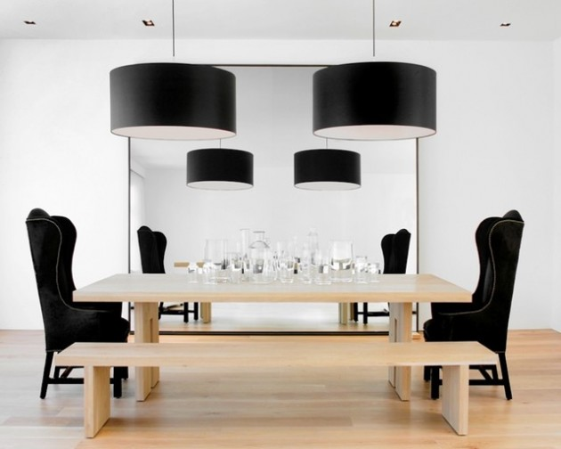 30 Wonderful Pendant Lamp Designs For Dining Room