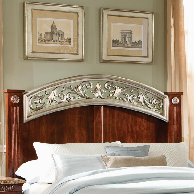 15 Elegant Headboards Made out of Wood and Metal