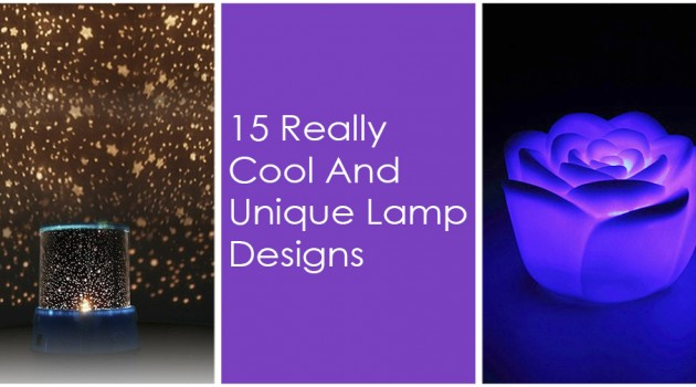15 Really Cool And Unique Lamp Designs