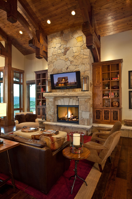 46 Stunning Rustic Living Room Design Ideas