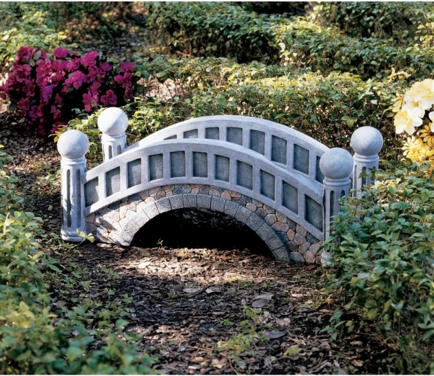 18 Small and Beautiful Fairy Tale Garden Bridges
