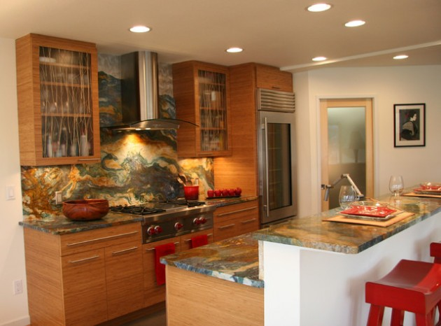 22 Simple Elegant Asian Inspired Kitchen Design Ideas ...
