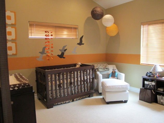 28 Contemporary Baby Nursery Design Ideas
