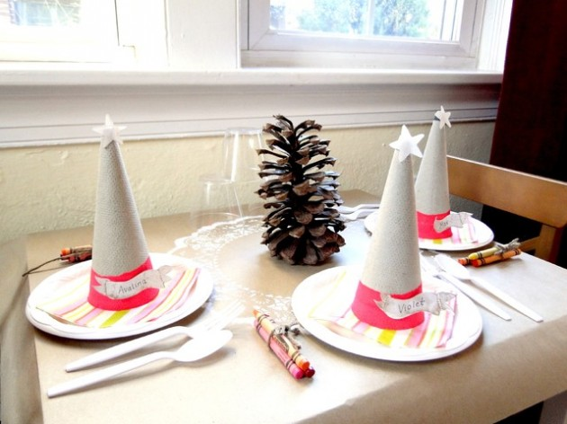 Top 20 of the most magnificent diy christmas decoration ideas Diy christmas table decorations