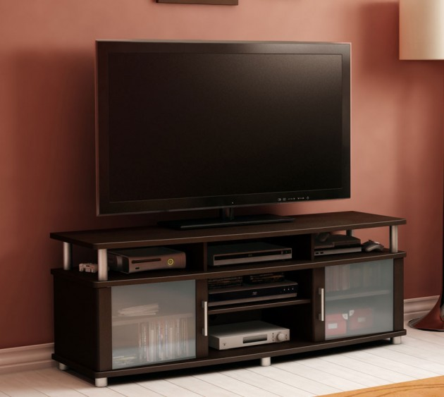 20 cool tv stand designs for your home for Table tv design