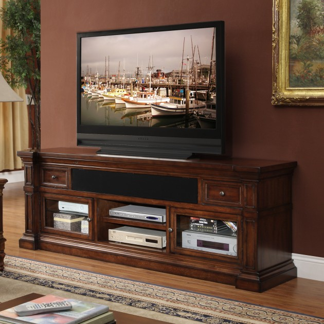20 cool tv stand designs for your home - Dresser as tv stand in living room ...