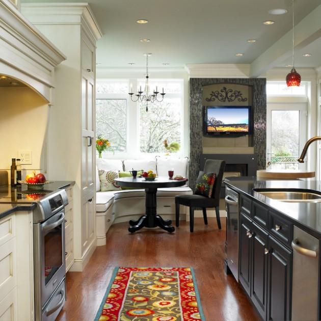 Home Design Ideas Bedroom: 30 Adorable Breakfast Nook Design Ideas For Your Home