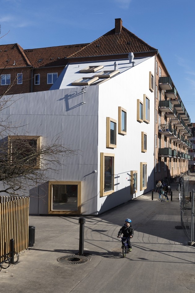 Amar Childrens Culture House in Copenhagen, Denmark, by Dorte Mandrup Architects