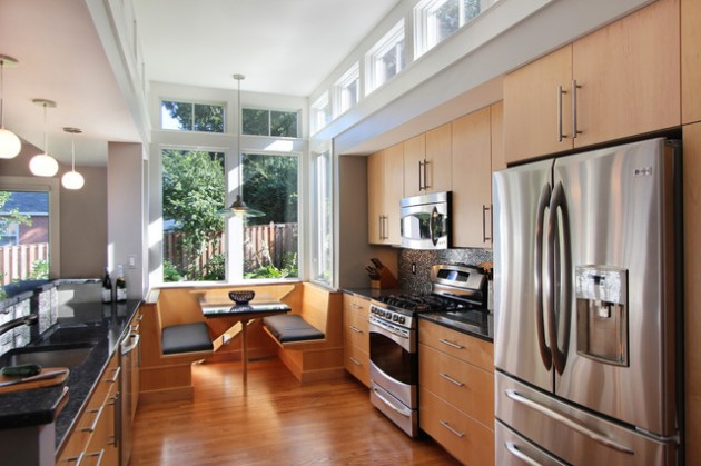 Lovely 30 Adorable Breakfast Nook Design Ideas For Your Home Improvement Part 20