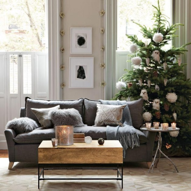Amazing Interior Design Ideas For Home: 30 Cheerful Christmas Interior Designs