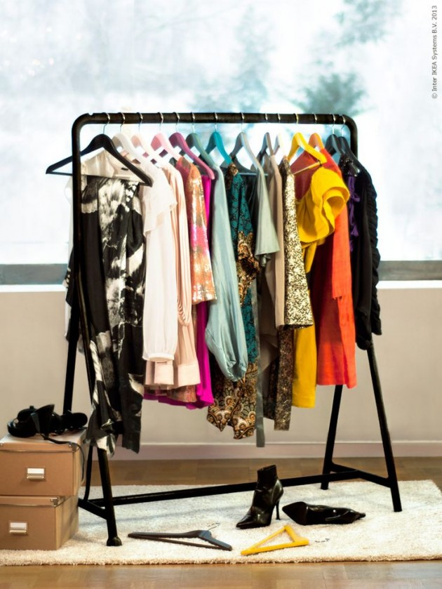 30 Clever and Chic DIY Clothing Storages