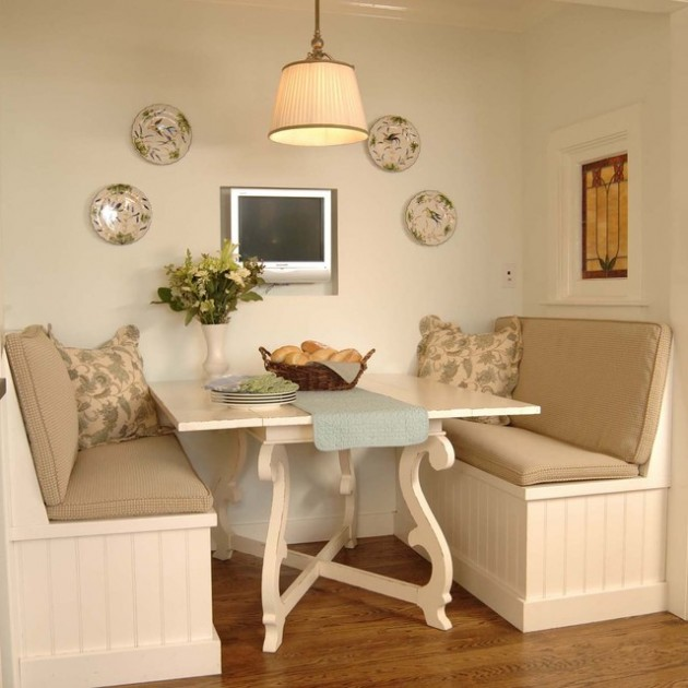 30 Adorable Breakfast Nook Design Ideas
