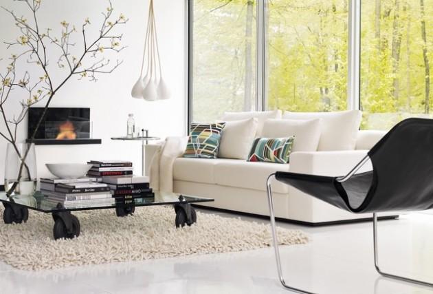 26 Modern Mid-Century Living Room Design Ideas
