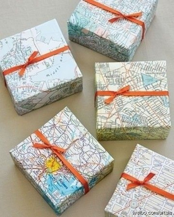 30 Creative Diy Maps Decorations