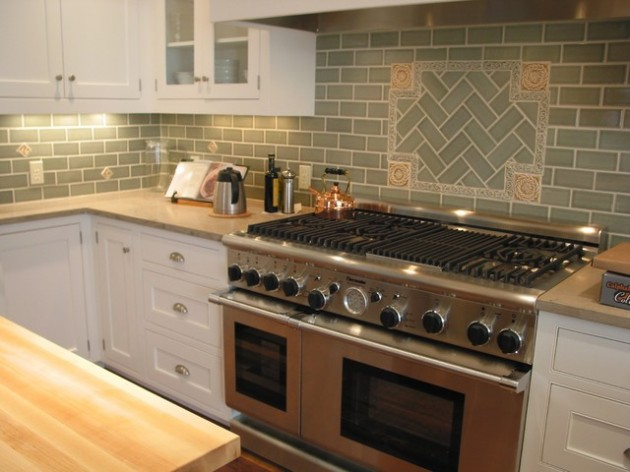 32 Delightful Backsplash Design Ideas for Improvement of Contemporary Kitchen