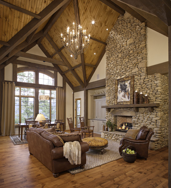 rustic home decor living room 46 stunning rustic living room design ideas 13049