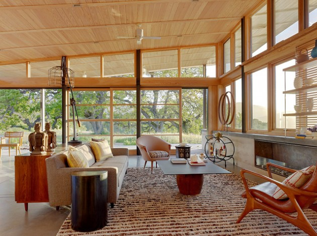 26 Modern Mid Century Living Room Design Ideas