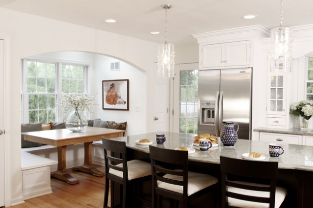 30 adorable breakfast nook design ideas for your home improvement - Breakfast Nook Ideas
