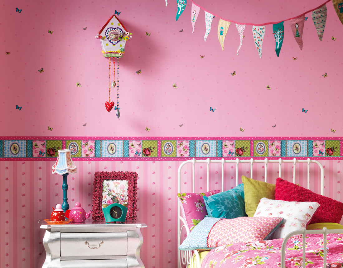 26 cute and fun kids wallpaper designs Wallpaper for childrens room