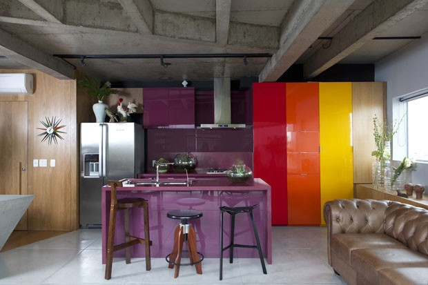 Modern Triplex in Sao Paolo by Guto Requena