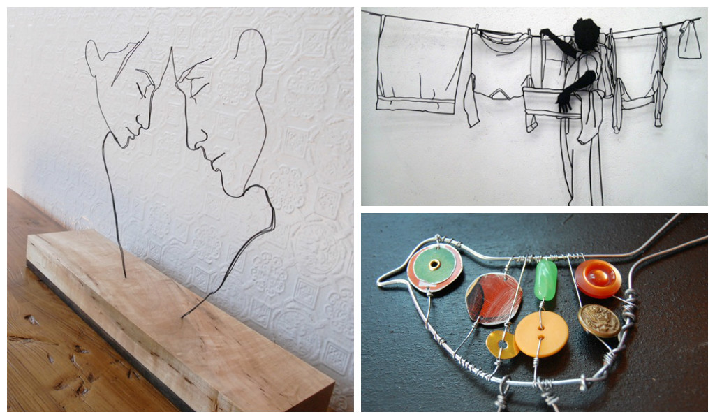 33 amazing diy wire art ideas  architecture art designs