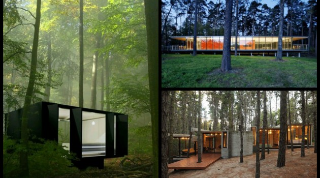 30 Charming Houses in the Woods