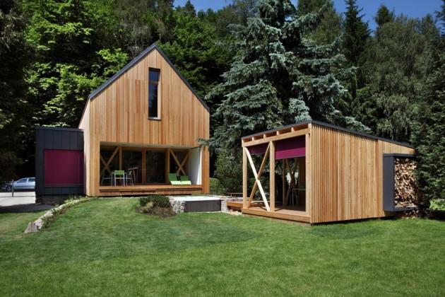 Stribrna Skalice House by Prodesi   Domesi