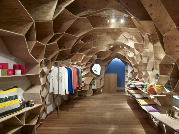 Lucien Pellat-Finet Shinsaibashi by Kengo Kuma & Associates