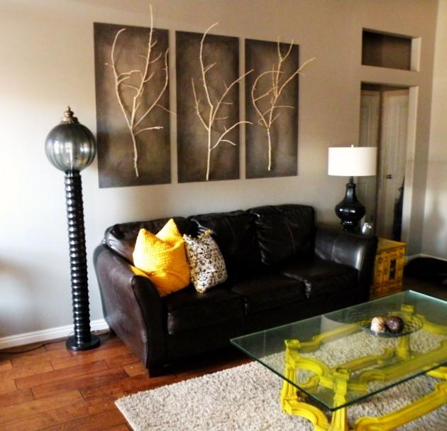 Amazing Diy Wall Art Ideas. Living Room ...