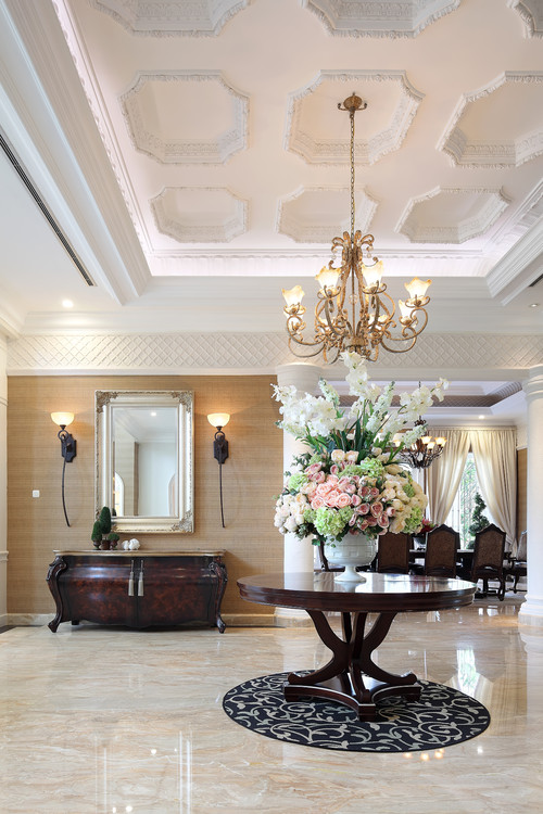 30 Stylish Interior Designs with Mouldings