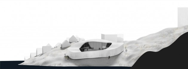 Greenland's new National Gallery by BIG