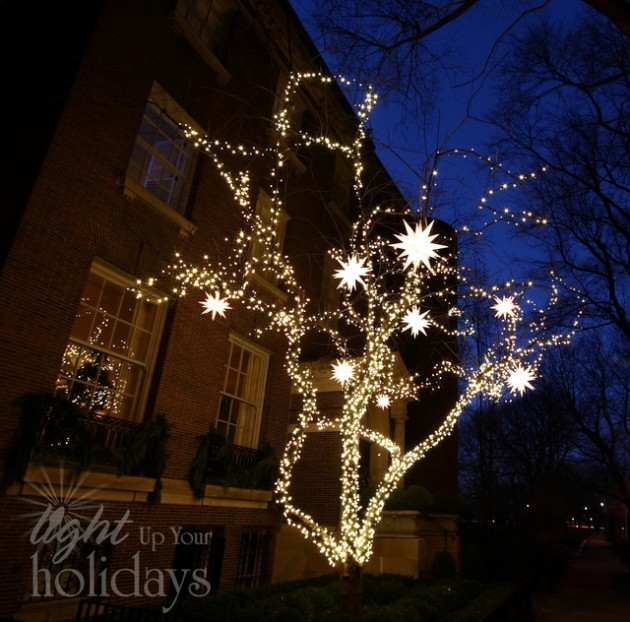 Outside Home Christmas Decorating Ideas: The Best 40 Outdoor Christmas Lighting Ideas That Will