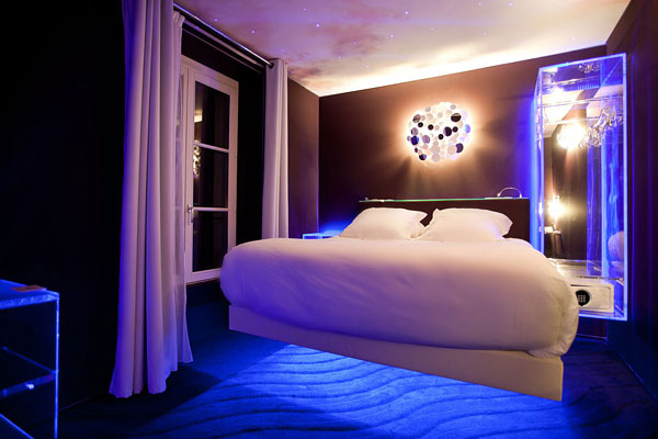 Le Seven Hotel in Paris Fascinating Interior Design Inspired by The Movies