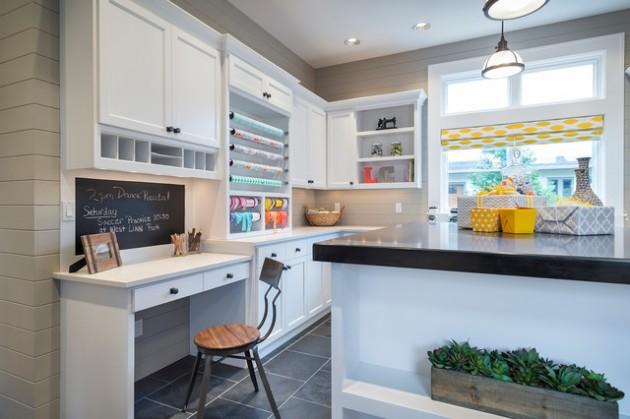25 Amazing and Practical Craft Room Design Ideas