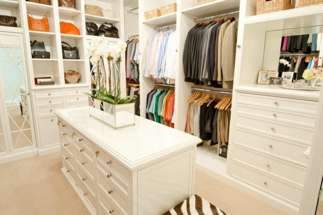 30 Fantastic Walk In Closet Designs for Your Home Improvement