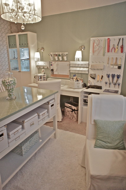 25 Amazing and Practical Craft Room Design Ideas