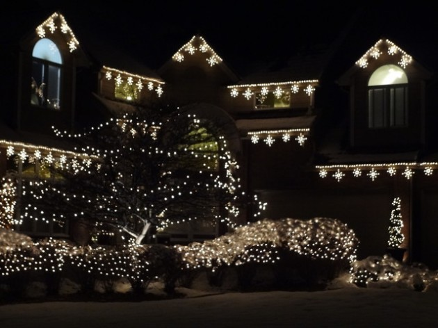 christmas house lighting ideas. the best 40 outdoor christmas lighting ideas that will leave you breathless house