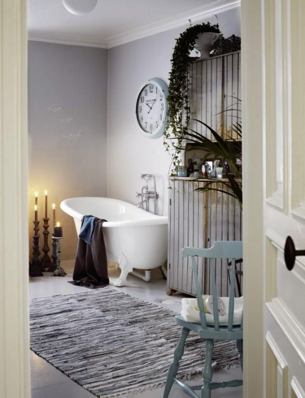 30 Adorable Shabby Chic Bathroom Ideas