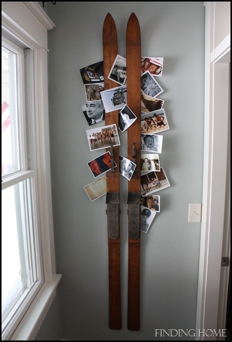 35 Amazing Vintage Ski and Ice Skates Decorations